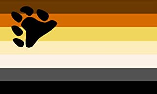 Shoe String King SSK Bear Pride Outdoor Flag - Large 3' x 5', Weather-Resistant Polyester