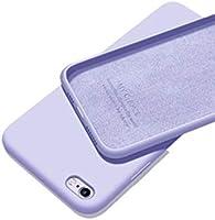 Apple Iphone 7 / 8 SE 2020 Içi Kadife Lansman Silikon Kılıf Şok Emici Full Kasa Koruma Sağlayan Kılıf - Liquid Silicone...