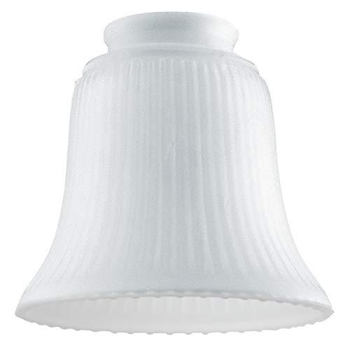 Westinghouse Lighting, 81066 – paralume a campana di vetro smerigliato costolato