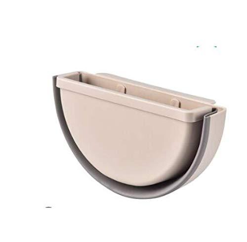ZKCXIM Folding Trash can Kitchen Cabinet Door Hanging Trash can Wall-Mounted Trash can Bathroom Toilet Trash Storage