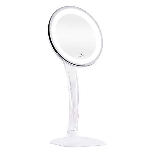 KEDSUM 10X Magnifying Lighted Makeup Mirror