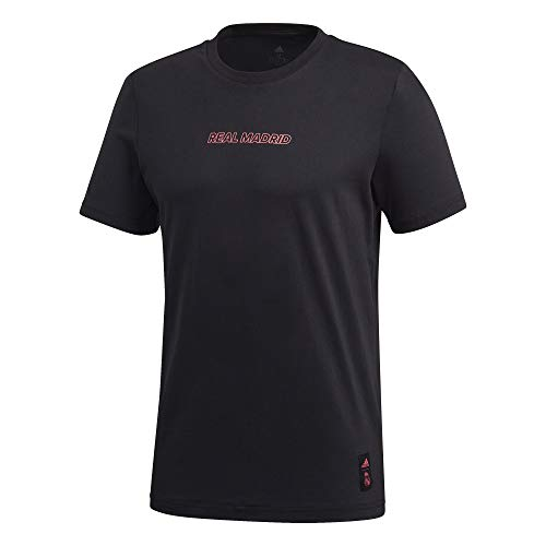 adidas Real Madrid Temporada 2020/21 Camiseta Casual Oficial Camiseta Casual Oficial Unisex Adulto