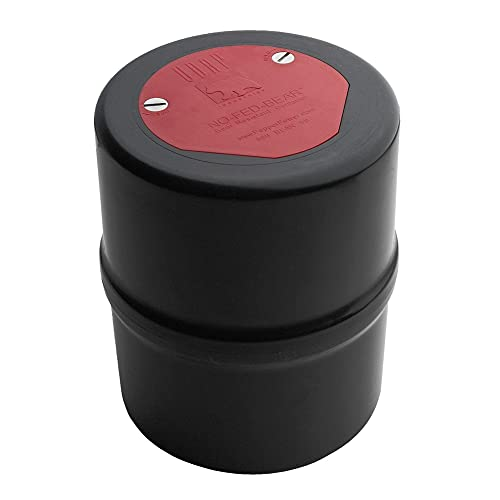 Udap No Fed Bear Bear Resistant Canister with Backpack Carrying Case Included