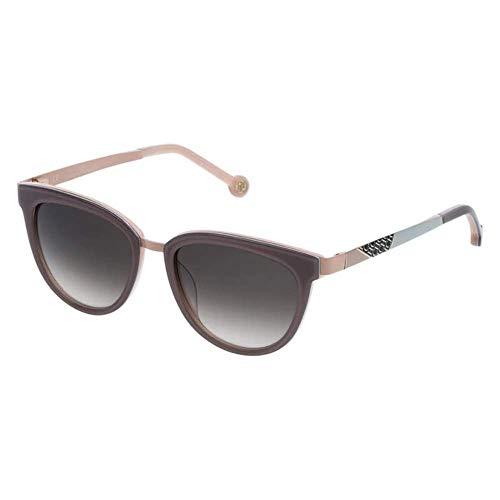 Carolina Herrera SHE7485209AL Gafas, Brown+Opaline Light Pink, 52/18/135 para Mujer
