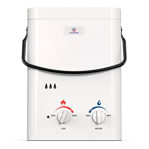 Product Image of the Eccotemp L5 1.5 GPM Portable Outdoor Tankless Water Heater