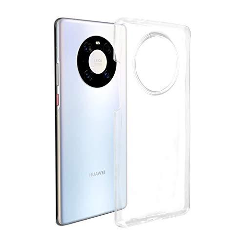 ROVLAK Hülle für Huawei Mate 40 Pro Hülle Silikon Superdünne Leichte Handyhuelle Kristallklare Tasche Stoßfeste Kratzfeste Transparente Schutzhuelle TPU Handytasche für Huawei Mate 40 Pro
