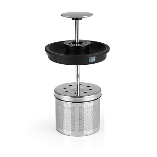 BEEM TEATIME II Edelstahl-Teesieb mit Deckel - 60 g | Losen Tee direkt im Teekocher brühen | Passend für BEEM TEATIME II Tee- und Wasserkocher - 1,7 L