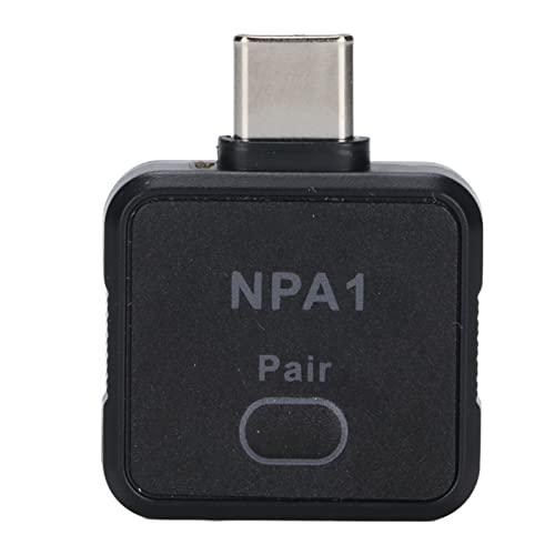 Adaptador USB Bluetooth, Mini Transmisor Bluetooth 4.2 con Tecnología EDR, Potente Conjunto De Chips, Baja Latencia, Sonido Estéreo, Adaptador Bluetooth para PS4, PC, TV, Laptops