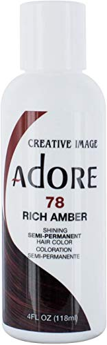 Creative Image Adore 78 Rich Amber Hair Color 118 ml