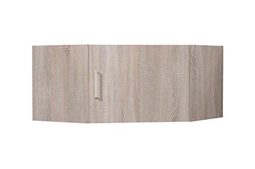 WILMES Ronny Mehrzweckschrank, Holzwerkstoff, Sonoma Eiche Dekor, 75x75x40 cm