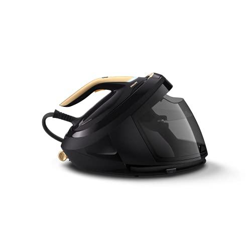 Philips PerfectCare - Ferro da stiro a caldaia serie 8000 PSG8130/80, 2700 W, colore: Nero e Oro