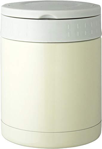リビング 弁当箱 フード マグ スープ リゾット 果物 350ml ホワイト 保温 保冷 持ち手付 ENJOY