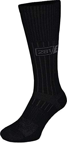 281Z Military Boot Socks Tactical Trekking Hiking Outdoor Athletic Sport Black X Small 1 Pair product image