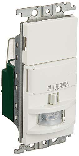 パナソニック 壁取付熱線センサ付自動スイッチ ホワイト WTK1811WK