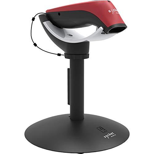 SocketScan S760 Scanner de Codes-Barres Universel avec Lecteur d'identification de Voyage et Support de Charge Rouge