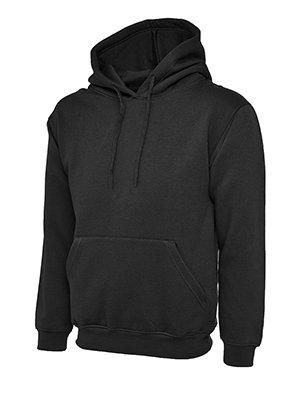 MAKZ - Sweat-Shirt à Capuche - Manches Longues - Homme - Noir - XXXX-Large