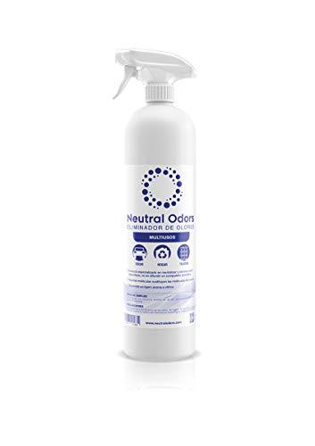 NEUTRAL ODORS - Eliminador de Olores Multiusos (Hogar, coche, tejidos, etc.) - 750 ml