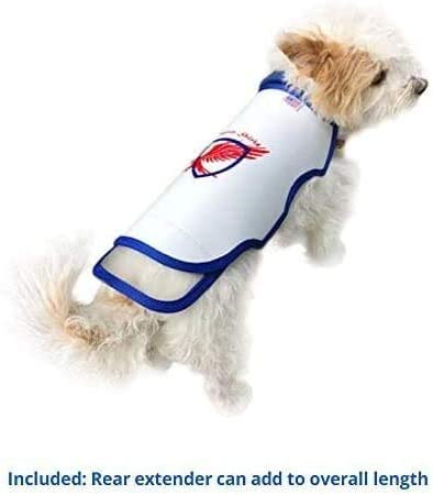 Chest 8.5 to 11 Raptor Shield Puncture Resistant Pet Vest for Small Dogs /— X-Small 2-4 lbs