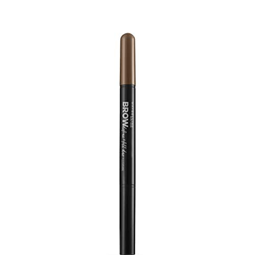 Maybelline New York Brow Satin Matita Ombretto per Sopracciglia, 02 Medium Brown