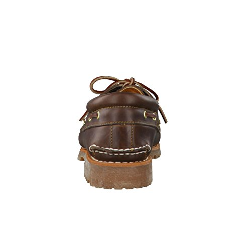 Timberland Timberland Herren Authentics 3 Eye Classic Bootsschuhe, Braun (Brown Pull Up), 45 EU