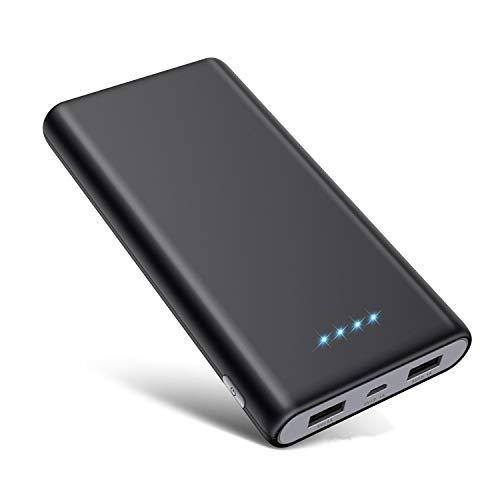 QTshine Powerbank 26800mAh Externer Akku, 【Hohe Kapazität】 Power Bank Mobiles Portable Ladegerät Die kann Nicht nur Ihr Handy Aufladen sondern sie ist auch kompatibel mit Tablet und Spielkonsole