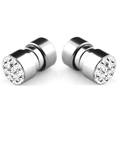 iJewelry2 cristal Pave magnética de acero inoxidable ilusi