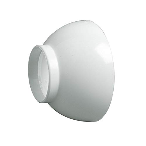 Jimten 017100 Plafón embellecedor, Blanco, Estándar