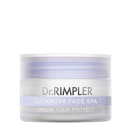 Dr. Rimpler CUTANOVA FACE SPA Cream Aqua Protect - Anti-Age-Tagespflege, Tagescreme mit leichtem...