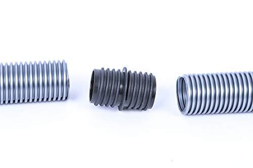 Schlauch Reparaturset passend für alle Siemens und Bosch Staubsauger Schläuche mit gleichbleibendem Durchmesser