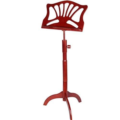 Liefdeslamp Muziek Stands Retro Houten Grote Muziek Stand Guzheng Guqin Viool Gourd Zijde Houten Klassieke Muziek Stand Instrument voor Instrumentale Prestaties Muziekkast