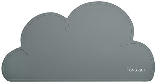 Kindsgut Platzdeckchen Wolke, Tisch-Set dunkelgrau