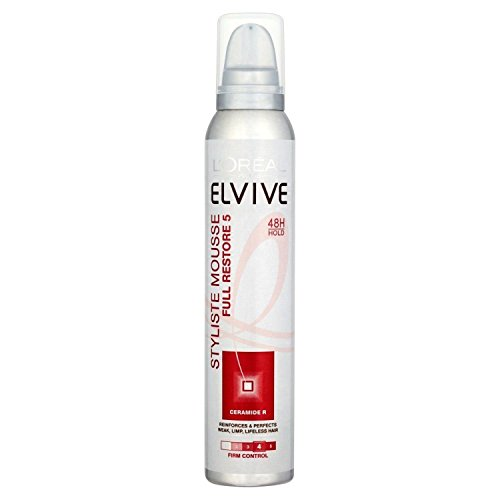 Loreal Elvive Full Restore 5 Mousse 200ml with Ayur Product in Combo
