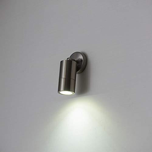Roterende LED wandlamp licht draaibare LED muur veranda lichten achtergrond lamp met GU10-lamp etalage schijnwerper downlights