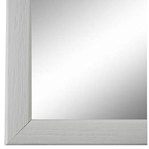 Online Galerie Bingold Spiegel Wandspiegel Weiß 30 x 40 cm - Modern, Vintage, Shabby - Alle Größen - Massiv - Holz - AM - Pinerolo 2,3