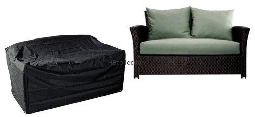 HBCOLLECTION Housse pour canapé/Banc de Jardin 2 Places Large Gamme Confort