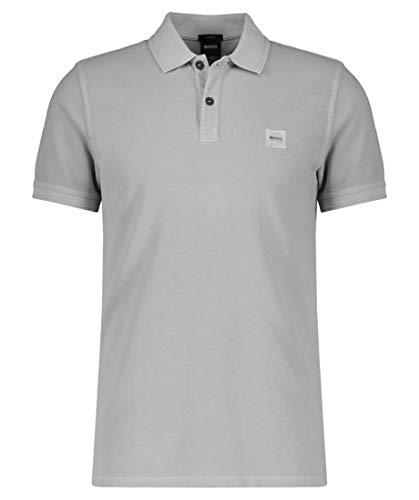 BOSS Herren Prime Polo Shirt, Silver (043), L EU