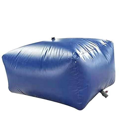 GAXQFEI Cubo de Alenamiento de Agua de Gran Capacidad Portátil, Bolsa de Alenamiento de Agua Plegable Al Aire Libre, con Grifo, para Jardín/Granja/Alenamiento de Incendios,1000L
