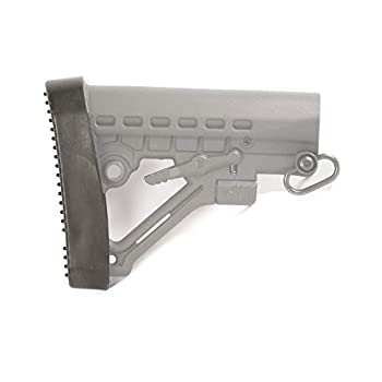 Hunter Select US Tactical Deluxe Military Style Butt Pad for Adjustable Magpul MOE CRT Stock  Black