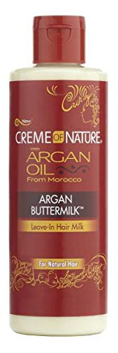 Creme Of Nature Argan Oil Buttermilk Lve In Conditioner (Pack of 4)