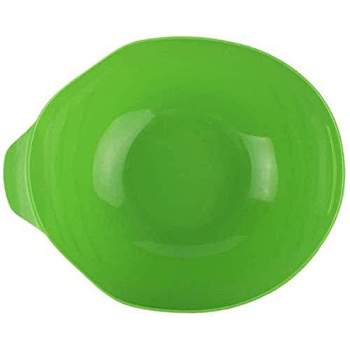 MLXG - Juego de 2 moldes plegables de silicona para hornear en el bolsillo, reutilizables para pan de pescado, ondas de verduras al vapor