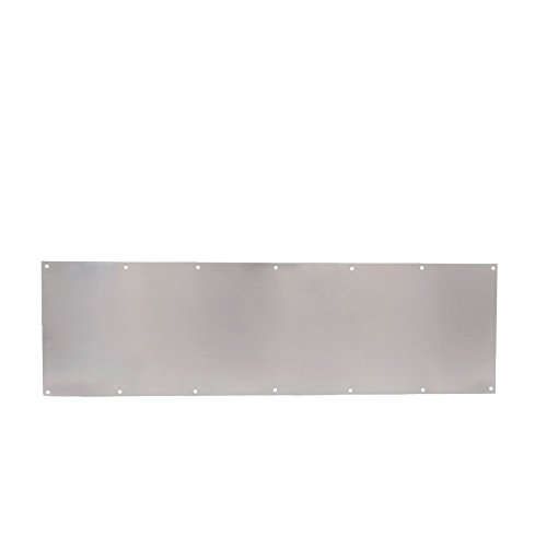 Trimco 12X34.630 Kick Plate, Stainless Steel, 12' x 34'