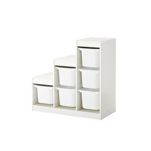 IKEA TROFAST – Combinación de almacenamiento con cajas