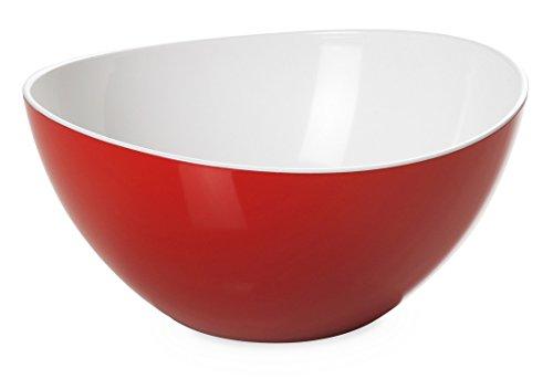 montefioredesign – Saladier Plastique Couleur Rouge