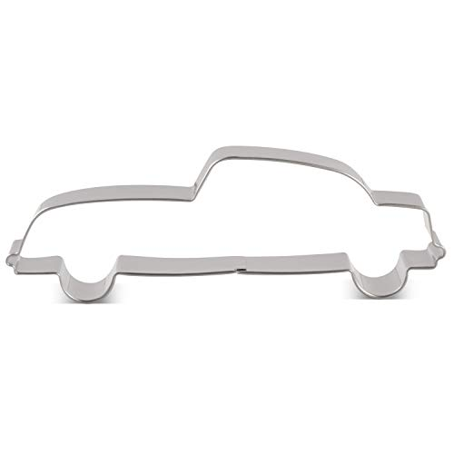 LILIAO Beat-up Car Cookie Cutter - 4.7 x 1.6 inches - Stainless Steel