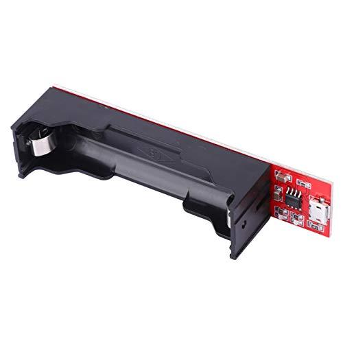 Chargeur de Batterie au Lithium, Module de Chargeur 18650 Chargeur utile, pour Composants électroniques à Courant 3 Vitesses Entrée 2pc s 5V