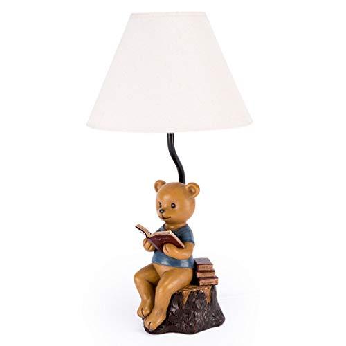 Tischlampe Bär Amerikanischen Retro Beleuchtung Schreibtisch Schlafzimmer Nachttischlampe Dekoration Cartoon Persönlichkeit Harz Dekoration Ornamente Licht