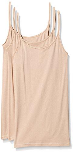 Triumph Damen Unterhemd Katia Basics Shirt01 3P, Beige (Smooth Skin 5G), Gr. 40