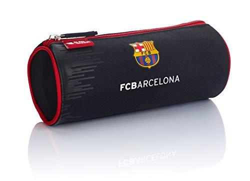 FC Barcelona Estuche – Bolsa FC-243 The Best Team 7 Estuche 22 cm, Color Negro