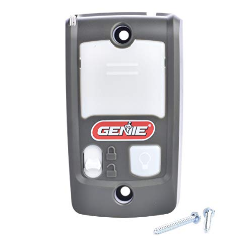 Genie Series II Garage Door Opener Wall Console - Sure-Lock/Vacation Lock for Extra Security - Light Control Button - Compatible with All Genie Series II Garage Door Openers - Model GBWCSL2