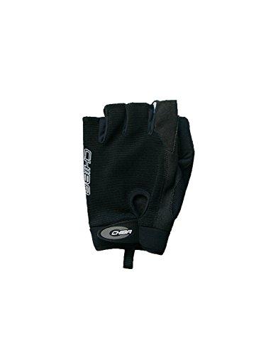Chiba Rollstuhl-Handschuhe Gel Protect, Schwarz, XXL
